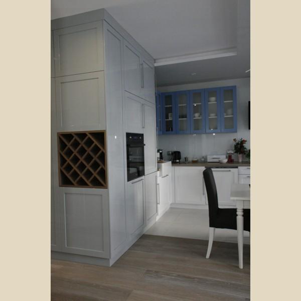 kuchnia w kształcie L 1  Kuchnie i szafy na wymiar   -> Kuchnia Gazowa Polmetal Czesci
